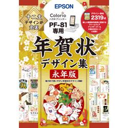 大特価!! EPSON エプソン PF-81用 PFND20A 年賀状デザイン集永年版 信頼