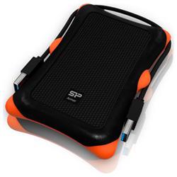 Silicon Power(シリコンパワー) ポータブルHDD [USB3.0・2TB] Armor A30(ブラック) SP020TBPHDA30S3K SP020TBPHDA30S3K