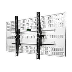 スタープラチナ TVSKBTI200MW テレビ壁掛け金具 37-47インチ対応 TVセッター壁美人TI200 ホワイト TVSKBTI200MW