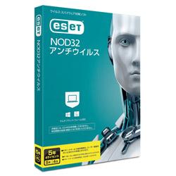 キヤノンITソリューションズ ESET NOD32アンチウイルス 5年4ライセンス [Win・Mac用] CMJND14044
