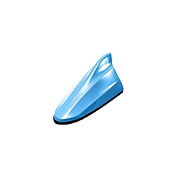 ギフ_包装 ビートソニック FDX4H-B626M FM AMドルフィンアンテナ ホンダ純正カラーシリーズ TYPE4 FDX4HB626M 保証 エアーライトブルー メタリック