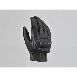 デイトナ 高い素材 16871 HenlyBegins HBG-046 XL ブラック 内縫いガンカットプロテクトショート 売店
