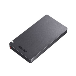 BUFFALO(バッファロー) SSD-PGM960U3-B USB3.1(Gen2) ポータブルSSD 960GB ブラック SSDPGM960U3B