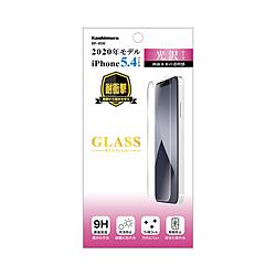 カシムラ 本店 BP-806 保護強化ガラス 光沢 iPhone mini 12 5.4インチ対応 絶品 BP806
