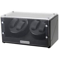 ロイヤルハウゼン 4本巻き自動巻き上げ機 GC03-D102BB (ブラック) GC03D102BB 【並行輸入品】