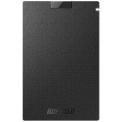 BUFFALO(バッファロー) SSD-PG960U3-BA USB3.1(Gen1)対応 ポータブルSSD [960GB/ブラック] SSD-PGU3-Aシリーズ SSDPG960U3BA