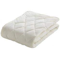 <title>フランスベッド ベッドパッド クランフォレスト羊毛ベッドパッド ダブルサイズ 140×195cm 高品質新品 キナリ</title>