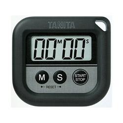 本日限定 タニタ 丸洗いタイマー100分計 TD376NBK 流行のアイテム