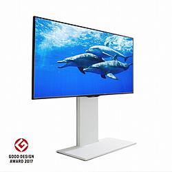 ナカムラ 32~60V型対応 壁寄せテレビスタンド WALL ウォール D05000009 一部予約 ホワイト 国内正規品 ロータイプ V2