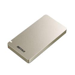 BUFFALO(バッファロー) SSD-PGM960U3-G USB3.1(Gen2) ポータブルSSD 960GB ゴールド ゴールド SSDPGM960U3G