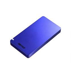 BUFFALO(バッファロー) SSD-PGM960U3-L USB3.1(Gen2) ポータブルSSD 960GB ブルー ブルー SSDPGM960U3L