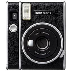 FUJIFILM フジフイルム インスタントカメラ チェキ instax 40 ブラック 人気急上昇 mini 無料サンプルOK INSMINI40