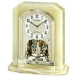 リズム時計 電波置き時計 「パルラフィーネ」 4RY691-005 4RY691005 [振込不可]