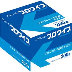 大王製紙 エリエールソフトワイパーS200BOX72個入り 703128 703128