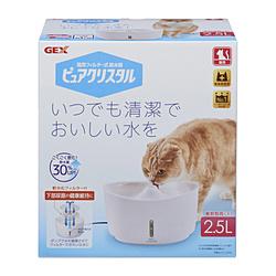 ジェックス ピュアクリスタル 本日の目玉 おトク 2.5L ホワイト 猫用