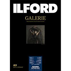 イルフォード イルフォードギャラリーテクスチャードコットンラグ 310g/m2 (A3・25枚) ILFORD GALERIE Textured Cotton Rag 422399 422390