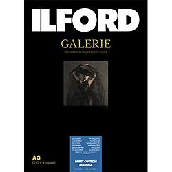 イルフォード イルフォードギャラリーマットコットンメディナ 320g/m2(A3・25枚)ILFORD GALERIE Matt Cotton Medina 433240 433240