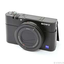 【中古】SONY(ソニー) DSC-RX100M3 ブラック (2010万画素/2.9倍)【291-ud】