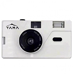 YAMA YAMA MEMO M20 WHITE 35mmフィルムカメラ ホワイト YAMAMEMOM20WHITE