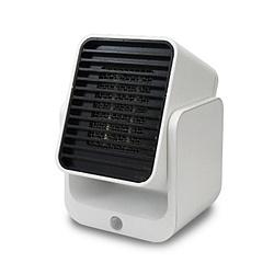 トップランド コンパクトセラミックヒーター ホワイト SCCH400WT 保証 人気急上昇 SC-CH400