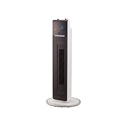 2021 09月発売予定 コイズミ 送風機能付ファンヒーター 首振り機能 2020新作 贈物 KHF1215W 人感センサー付き