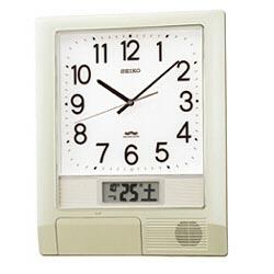 SEIKO 電波掛け時計 「プログラムクロック」 PT201S PT201S