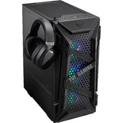 ASUS(エイスース) PCケース TUF Gaming GT301 ブラック GT301TUFGAMINGCASE