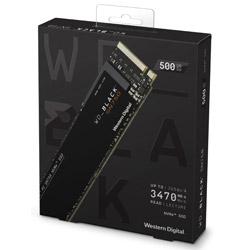 Western Digital WD Black SN750 NVMe SSD WDS500G3X0C (SSD/M.2 2280/500GB) WDS500G3X0C