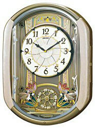 SEIKO 電波からくり時計 「ウェーブシンフォニー」 RE567G RE567G