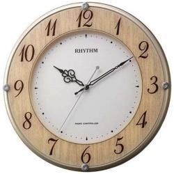 リズム時計 電波掛け時計ライブリーナチュレ8MY506SR23 8MY506SR23振込不可Wb9eEYH2ID