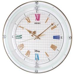 SEIKO 電波掛け時計 「大人ディズニー 不思議の国のアリス」 FS509W FS509W