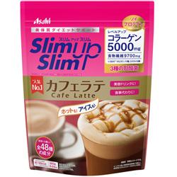 メーカー在庫限り品 最安値挑戦 アサヒグループ食品 スリムアップスリム シェイク カフェラテ味 360g