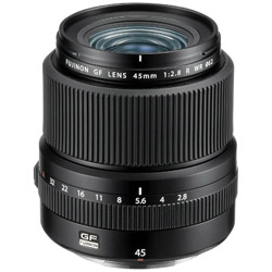 FUJIFILM(フジフイルム) カメラレンズ フジノン GFレンズ GF45mmF2.8 R WR【FUJIFILM Gマウント】 FGF45MMF28RWR