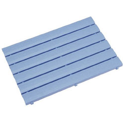 ミヅシマ工業 ストレートスノコ#105 600X1050 ブルー 4300360 4300360