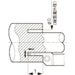 KYOCERA(京セラ) 京セラ 溝入れ用ホルダ KFMSR2525M85110-3 KFMSR2525M851103