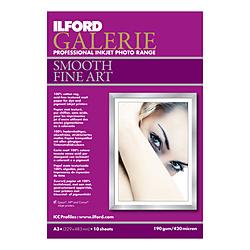 【在庫限り】 イルフォード イルフォード ギャラリー ファインアートペーパー[A3+サイズ /10枚]インクジェット 422481 422481ILFORDGALERIEF [振込不可]