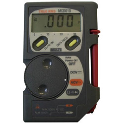 マルチ計測器 コード収納機能付ポケットマルチ MCD010 MCD010