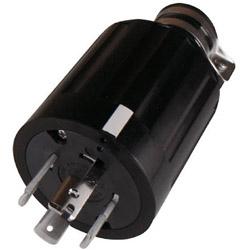 アメリカン電機 引掛形 ゴムプラグ 接地3P60A600V 4662R 4662R