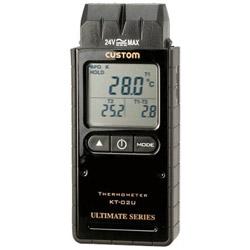カスタム デジタル温度計(Kタイプ2ch) KT02U KT02U