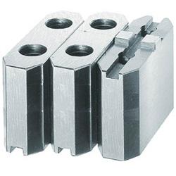 トラスコ中山 生爪ソール用 標準型 チャック6インチ H60mm MSE660 MSE660