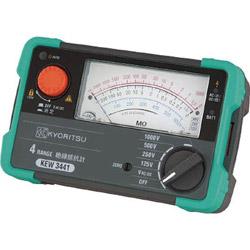 共立電気計器 KEW3441 KYORITSU 4レンジアナログ絶縁抵抗計 KEW3441