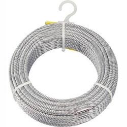 トラスコ中山 CWM-5S100 TRUSCO メッキ付ワイヤロープ Φ5mmX100m CWM5S100