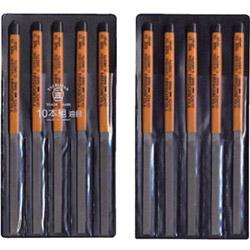 ツボサン HI010-04 ツボサン 組ヤスリ 10本組 平 油目 HI01004