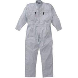 山田辰 5750-G1-L AUTO-BI ツナギ服 Lサイズ グレー 5750G1L