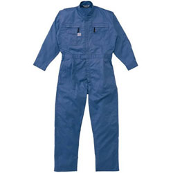 山田辰 5750-BL-L AUTO-BI ツナギ服 Lサイズ ブルー 5750BLL