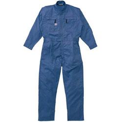 山田辰 5750-BL-3L AUTO-BI ツナギ服 3Lサイズ ブルー 5750BL3L