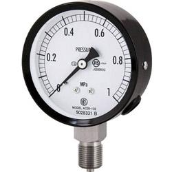 長野計器 長野 普通形圧力計(A枠立形・φ75・G3/8B・0.0~10.00Mpa) AC20-133-10.0MP AC2013310.0MP