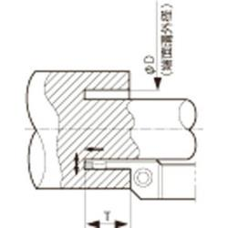 KYOCERA(京セラ) 京セラ 溝入れ用ホルダ KFMSR2525M5070-4 KFMSR2525M50704
