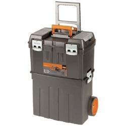 スナップオンツールズ バーコ 高級 4750PTBW47 販売期間 限定のお得なタイムセール ヘビーデューティー仕様キャスター付きプラスチックボックス