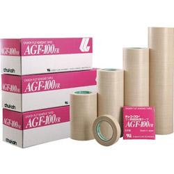 中興化成工業 フッ素樹脂(テフロンPTFE製)粘着テープ AGF100FR 0.18t×200w×10m【1巻】 AGF100FR18X200